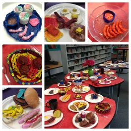 Gr.5 clay buffet.