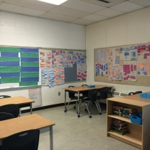 Our wall of inquiry.