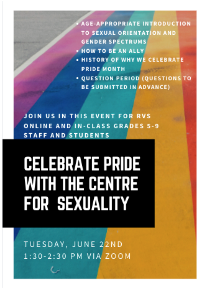 Centre for Sexuality Pride Poster Event